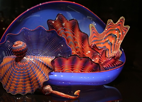 chihuly bowl, explosion of color, debiriley.com