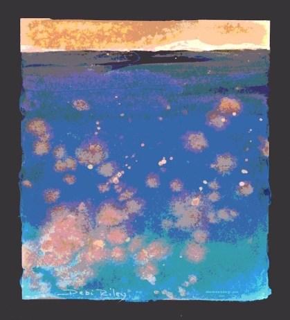digital art, watercolors, debiriley.com
