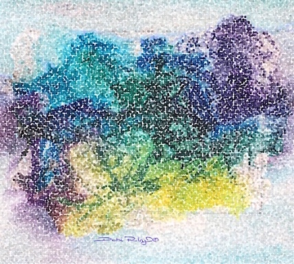 digital art, watercolor painting, debiriley.com