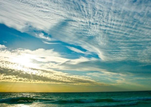 easter sunday sky, debiriley.com