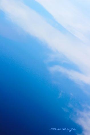 Reflection of sky, photo, debiriley.com