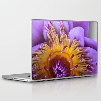 lily laptop  society 6.com  debiriley,   debiriley.com