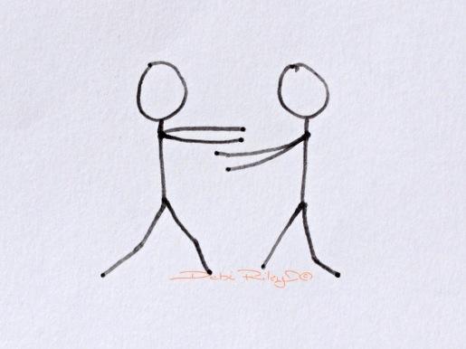 embrace of hands, love, debiriley.com