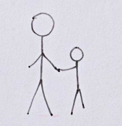 love holds hands, debiriley.com