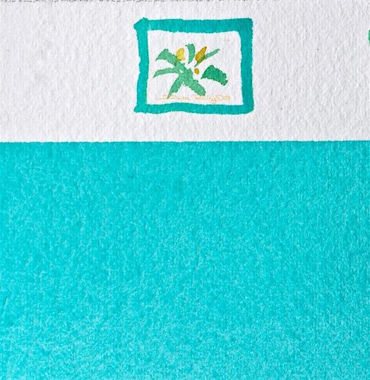 Relax, cobalt teal blue pg50, watercolor painting, daniel smith paints, debi riley art, debiriley.com