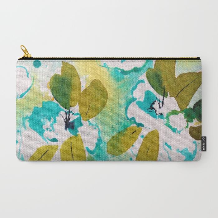 fresh spring, watercolor azalea painting, debiriley.com