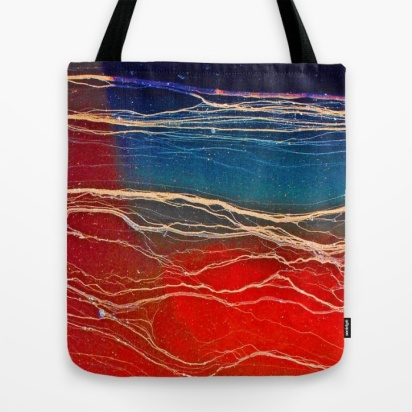 scarlet tote bag, debi riley art society 6, debiriley.com