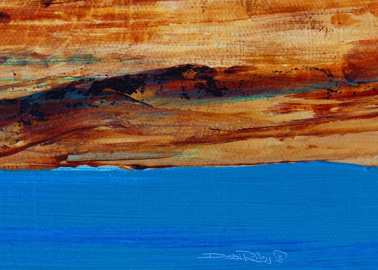 Blue Lake – AcrylicAbstract