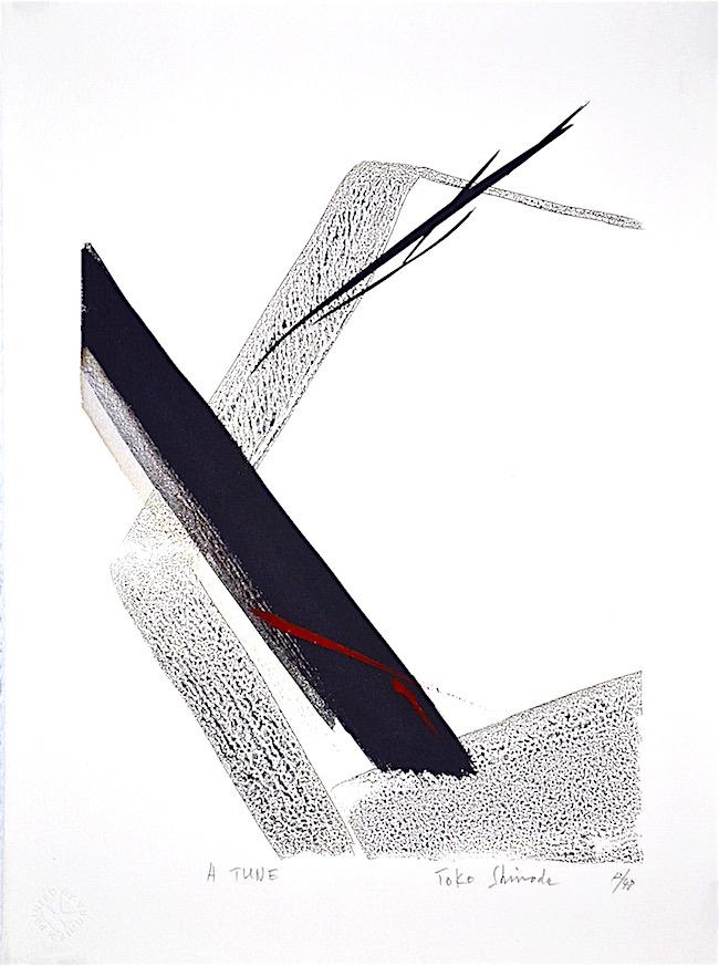 art of Toko Shinoda, Japanese abstract, calligraphy, debiriley.com