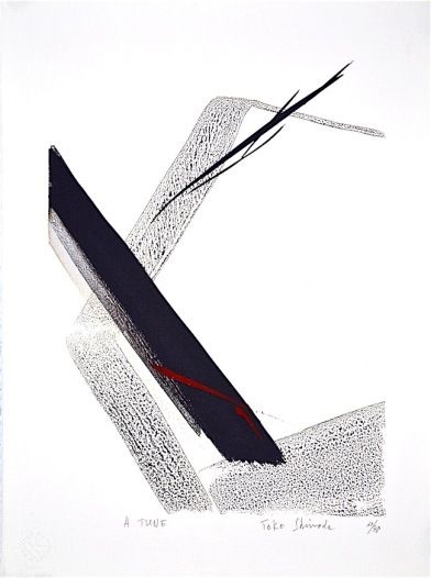 art of Toko Shinoda, Japanese abstract, calligraphy, debiriley.com