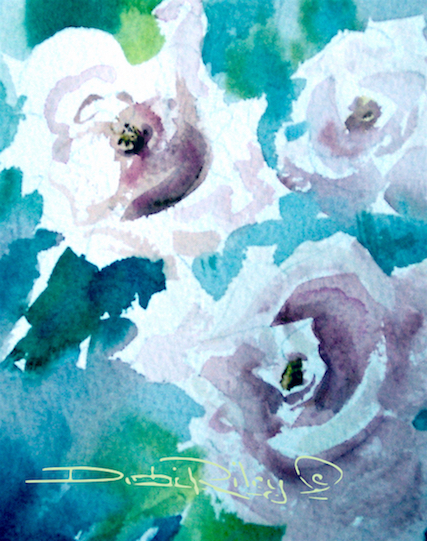 Watercolor – 3 Faces of TheDay