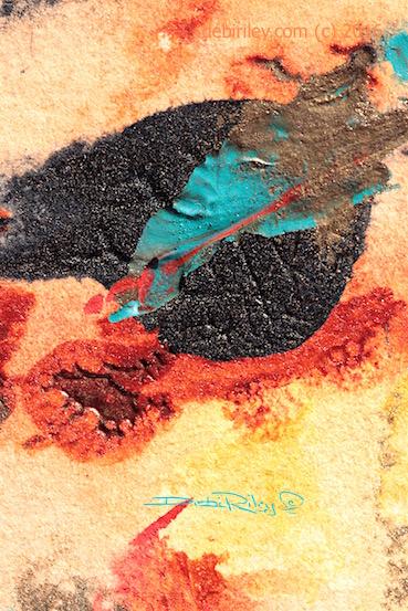 Fallen Leaves, #worldwatercolormonth, debiriley.com,