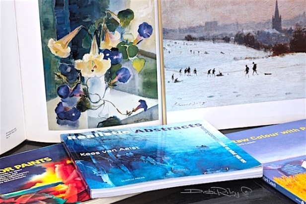 best art books, Margaret Coen, Edward Seago, watercolor masters, debi riley