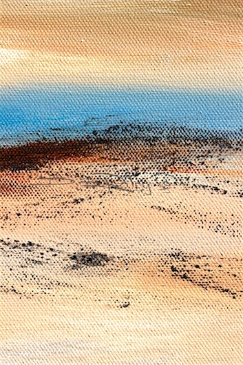 contemporary minimalist oil landscape, limited palette, less is more, debi riley art