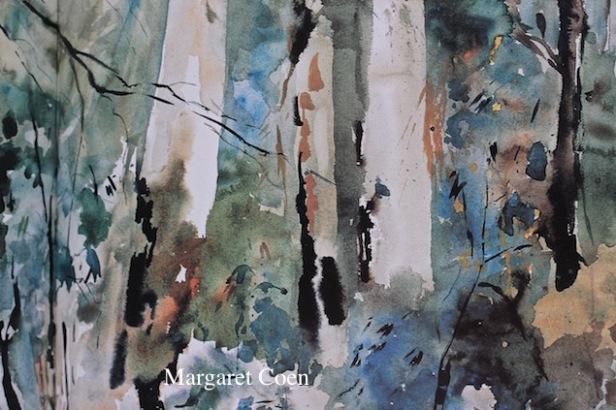 Margaret Coen, Sydney artist, watercolors, debiriley.com