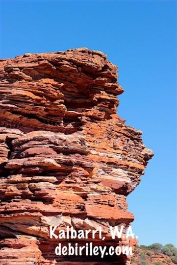 Kalbarri red gorges, Western Australia travel photographs, debiriley.com