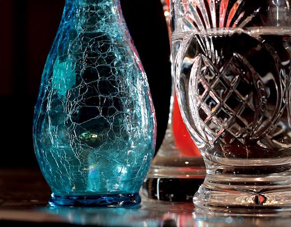 blue Kanawha glass, still life photography, debiriley.com