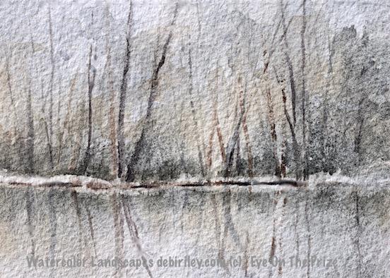 #worldwatercolorgroup, watercolor landscape, debiriley.com