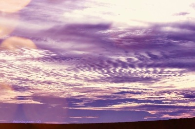 storm clouds dark purple, photo ipad, Helen Keller quote, debiriley.com