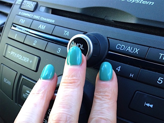 car drive with polished nails, debiriley.com