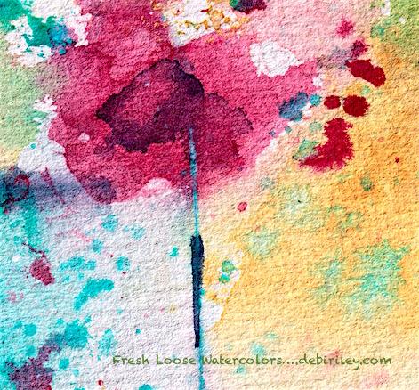 getting fresh watercolors, avoid dull paint, simple beginner watercolor steps, debiriley.com