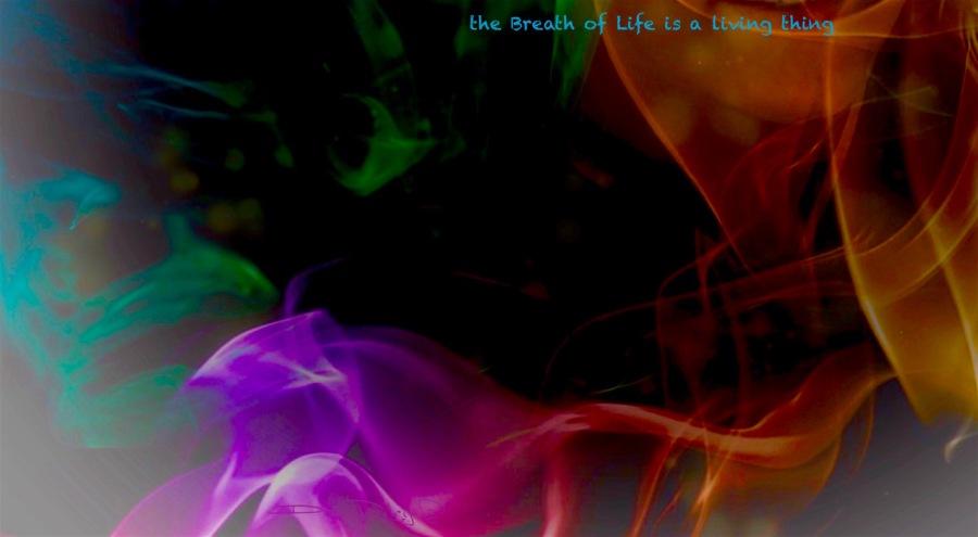 breath of life, inspired, digital abstract art, debiriley.com