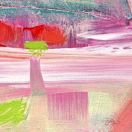 contemporary abstract in acrylics, faith , creativity, colorful paintings, debiriley.com