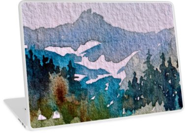popular mountain in blue, debiriley.com