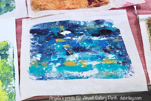 Pretty Print in Cobalt TealBlue