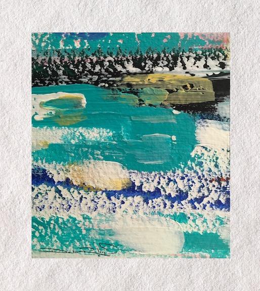 summer time, beach and ocean, cobalt teal blue, debiriley.com
