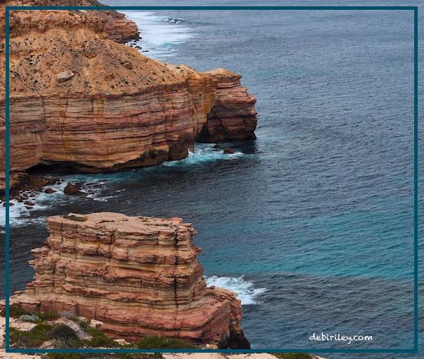 Kalbarri Australia, ocean photograph, travel to Western Australia, Perth, debiriley.com
