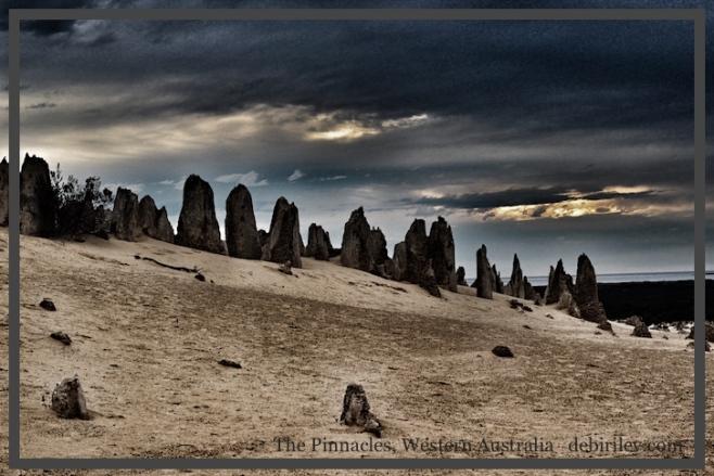 Western Australia travel, the Pinnacles, Western Australia, stormy outback sky, debiriley.com
