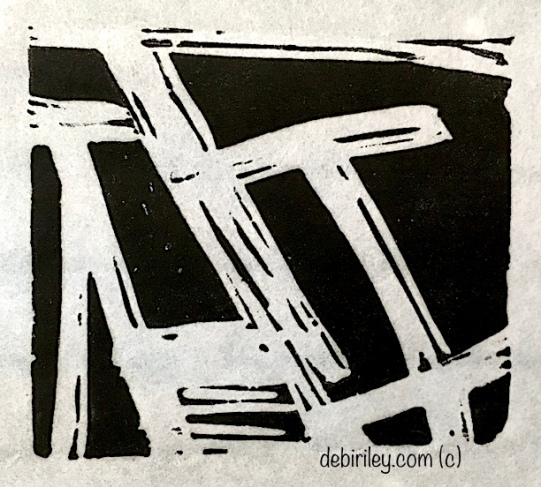 lino printing by hand, negative spaces, Atwell Gallery Perth, Debi Riley artist,