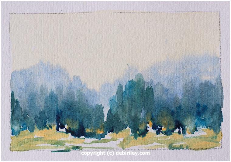 Impressionist Landscape ColorStudies