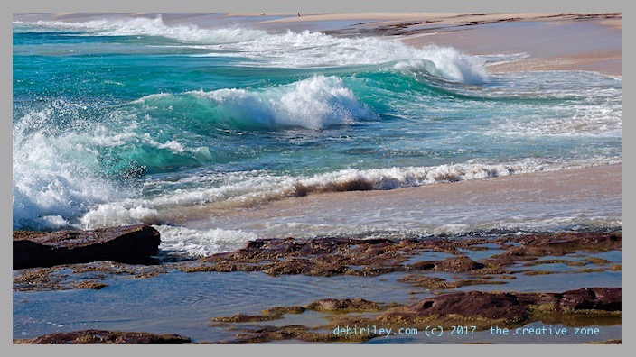 sun, fun, color at the beach, ocean, coastline, surf, photography, debiriley.com