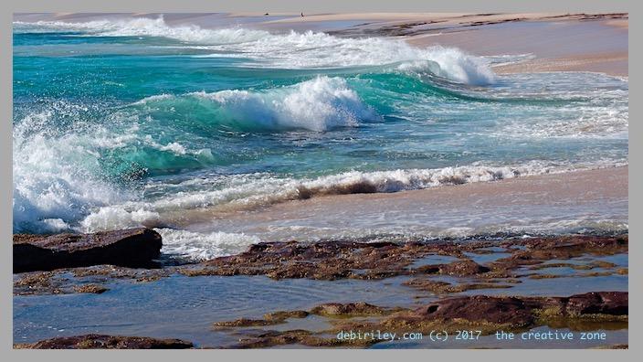 sun, fun, color at the beach, ocean, coastline, surf, photography, debiriley.com