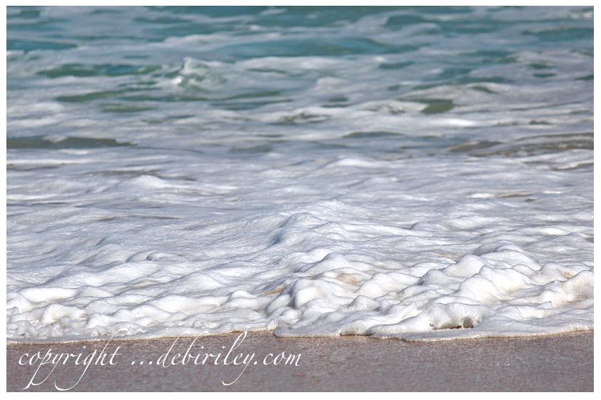 fun day at the beach, photography at the beach, sea foam, debiriley.com