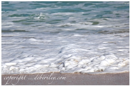 fun day at the beach, photography at the beach, sea foam, debiriley.com