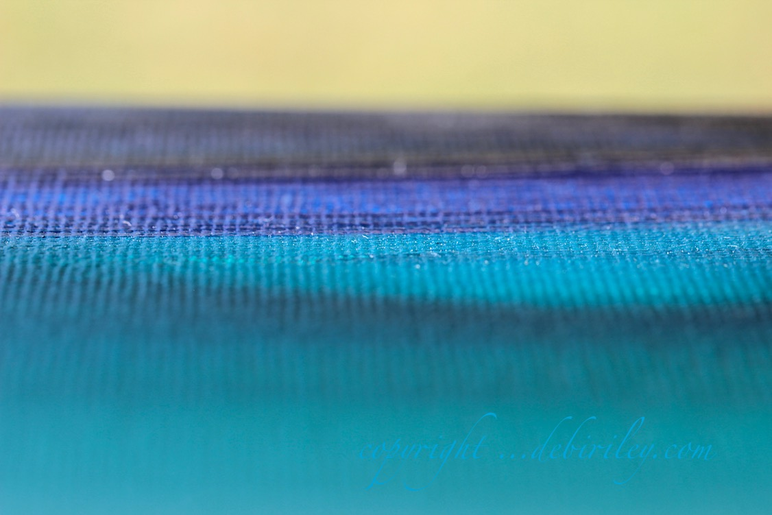 seascape abstract in oils, cobalt teal blue, ultramarine blue, painting the sea, debiriley.com