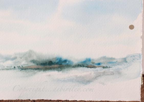 Chilled and cool impressionist landscape debi riley for Landscape limited