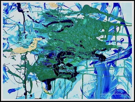 abstract expressionism, acrylic painting on canvas, debiriley.com