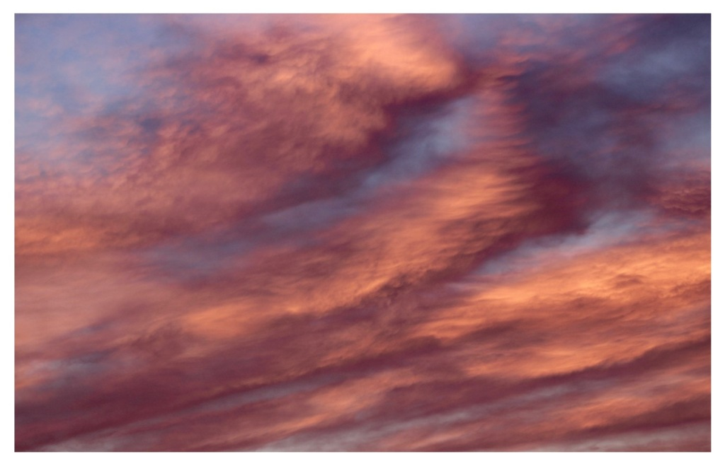 morning sky ablaze, sky and cloud photography, debiriley.com