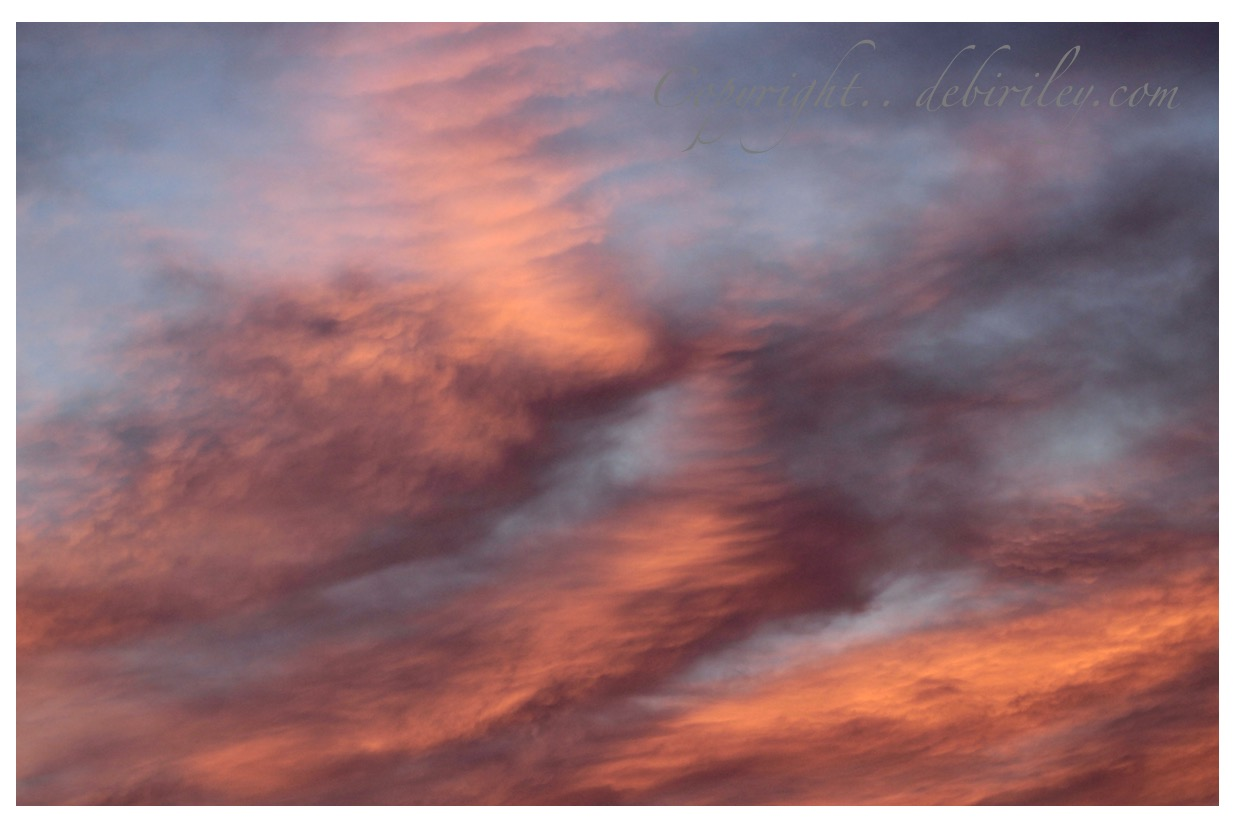 sunrise, clouds, sky photography, moods in photography, debiriley.com
