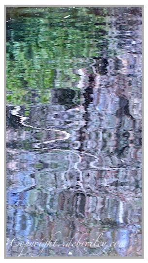 photograph of water reflection abstraction, debiriley.com