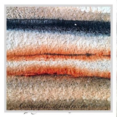 Daniel Smith watercolor Lunar Black, Quinacridone Sienna, mixing browns in watercolours, debiriley.com
