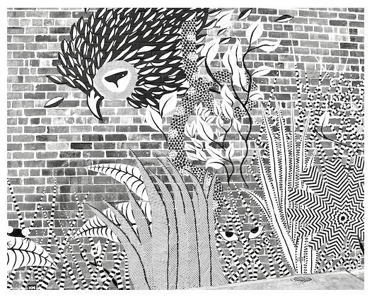 art on the walls, imagination for children, debiriley.com