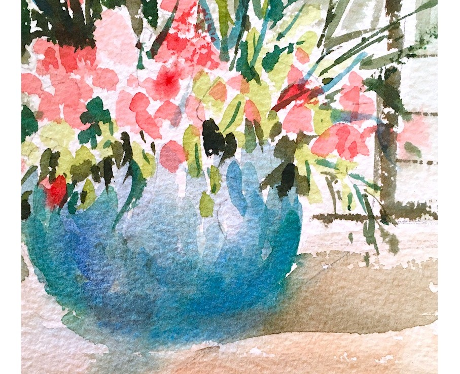 Watercolor …. daydreams II
