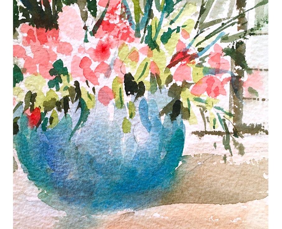 Watercolor …. daydreamsII