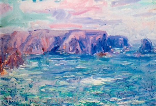 impressionist sea painting, john peter russell art, debiriley.com