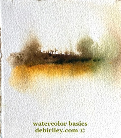 watercolor beginner basics, tips and techniques for starting watercolours, everything you wanted to know about watercolor, debiriley.com
